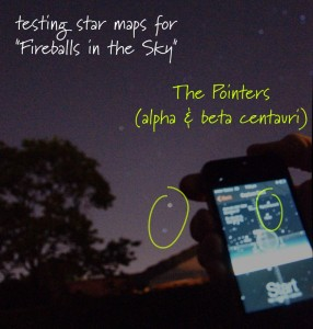 Augmented reality star maps