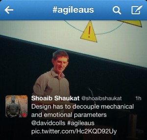 """Dummies"" talk at Agile Australia"