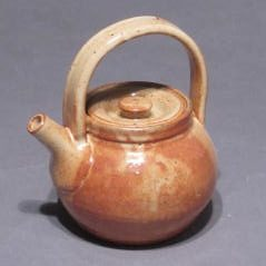 Teapot with handle on top