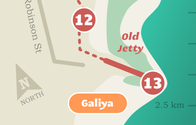 Jetty to Jetty app